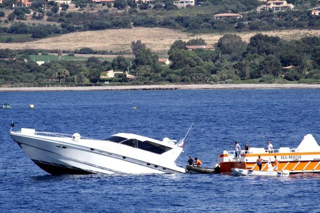 Un bateau en difficulté dans la baie de Calvi