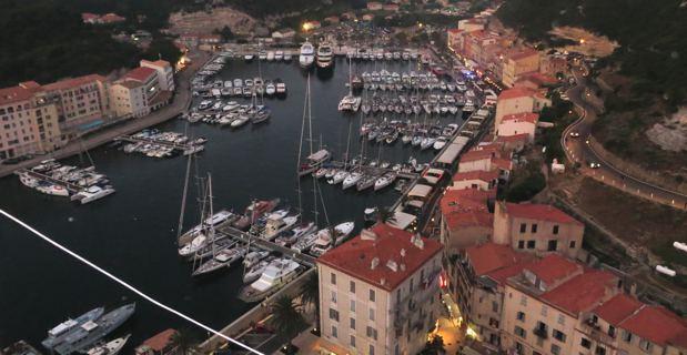 Le port de Bonifacio
