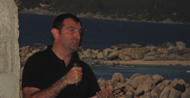 Jean-Charles Orsucci, maire de Bonifacio, président du groupe « Démocrates, socialistes et radicaux » et vice-président de l'Assemblée de Corse.