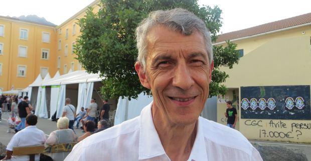 Michel Castellani, élu territorial du groupe Femu a Corsica, membre de la Commission Chaubon et conseiller municipal d'Inseme per Bastia.