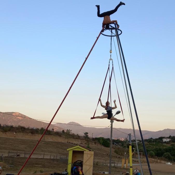 Les arts du cirque s'invitent à l'Espace Sportif et Culturel d'Appiettu