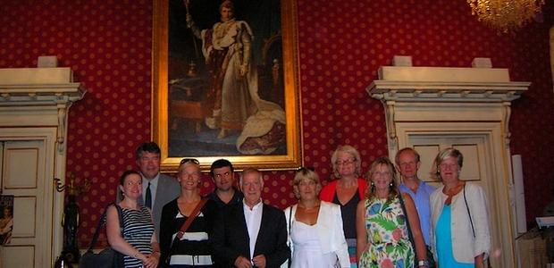 La délégation de parlementaires a été reçue par le maire d'Ajaccio. (Photo : Yannis-Christophe Garcia)