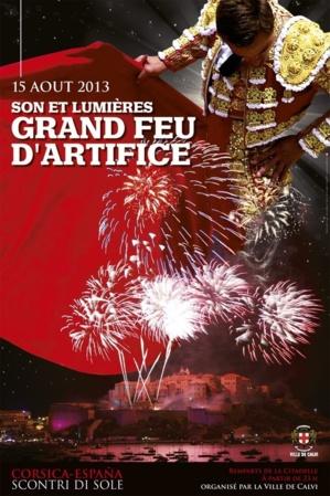 Messe procession et spectacle pyrotechnique le 15 août à Calvi