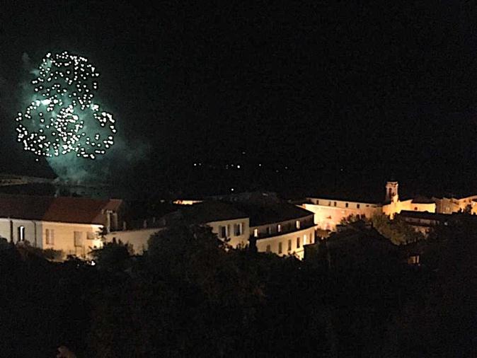 Bastia : le feu d'artifice en quelques images