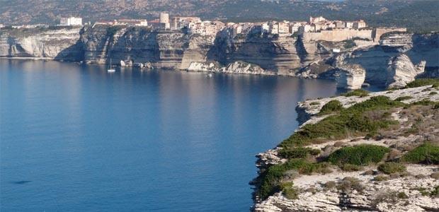 Les falaises de Bonifacio (Dr)