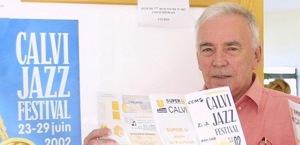 La mort de René Caumer fondateur du Festival de Jazz de Calvi