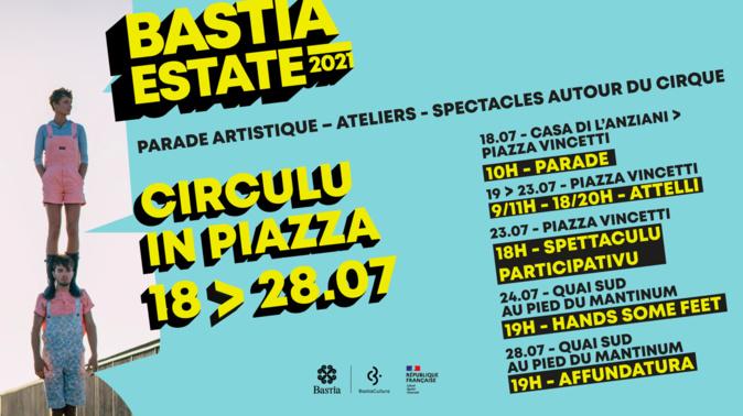 Circulu in Piazza : 10 jours d'activités culturelles autour du cirque à Bastia