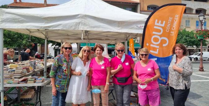 Les bénévoles de la Ligue contre le Cancer 2B