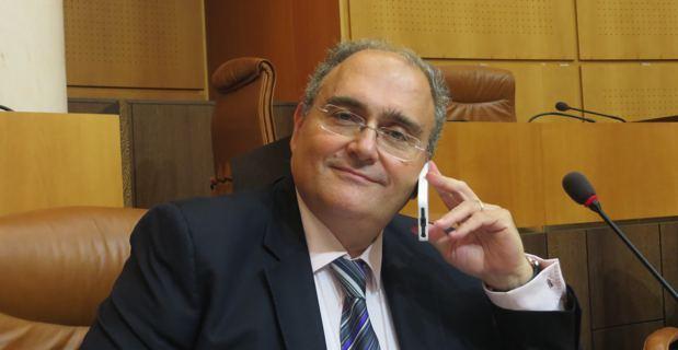 Paul Giacobbi, président de l'Exécutif territorial, député.