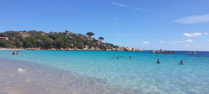 La plage de Santa-Giulia - Photo Lamy Sabrina