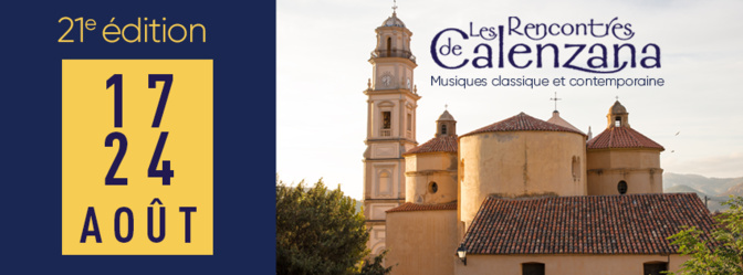 Rencontres de Calenzana : Une très belle 21ème édition en perspective !