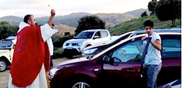 Sorbollano : On a ressuscité Saint Christophe dans l'Alta Rocca