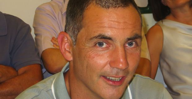 Gilles Simeoni, co-leader de Femu a Corsica, élu territorial et conseiller municipal de Bastia.