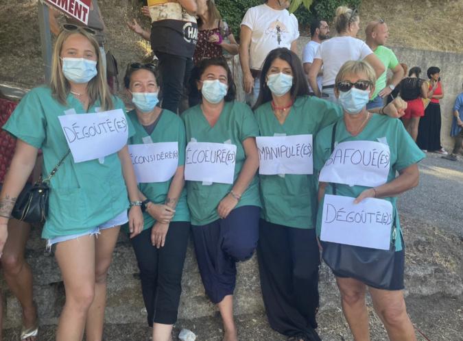"""Manifestation contre le pass sanitaire à Sartè : """"la liberté doit primer !"""""""