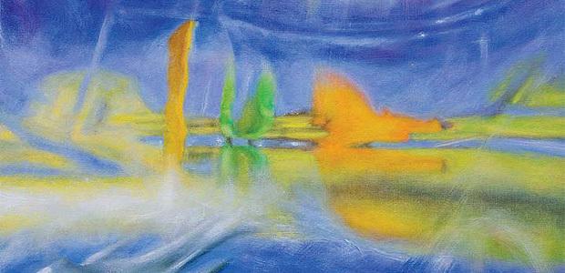 Olivier Long, Brasil, huile sur toile, 130x97 cm, 2013.