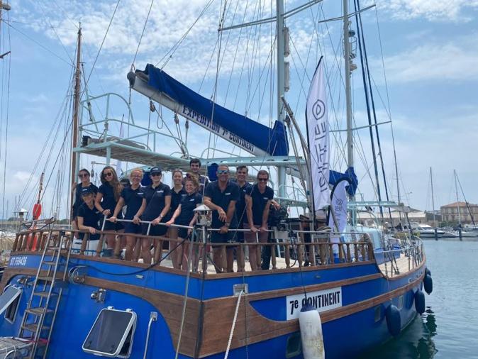 « Protéger l'océan, ça s'apprend » : l'expédition « 7ème Continent » fait escale en Corse