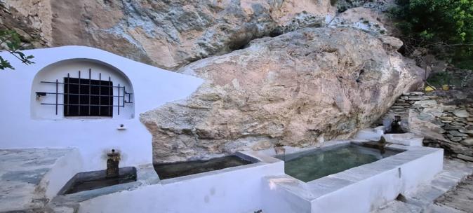La photo du jour :  le lavoir de Magna suprana à Rogliano