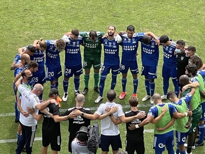 Un Sporting prometteur face à Nîmes (1-1)