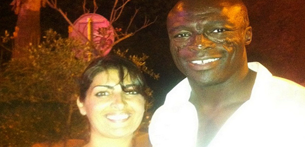 "Le chanteur Seal ""love"" Calvi"