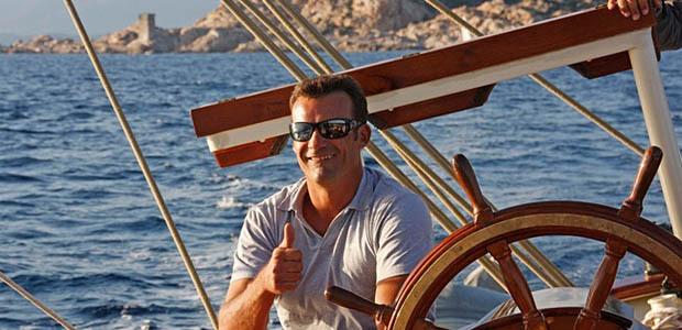 Thibaud Assante aux commandes de la Corsica Classic