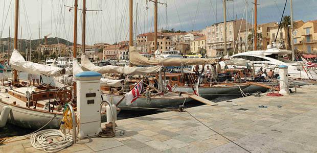 La Corsica Classic est restée à quai à Calvi.