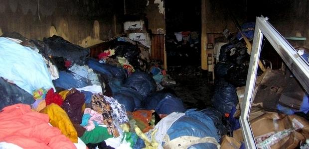 Après l'incendie qui a détruit le local et une grande partie des vêtements, le premier adjoint au maire d'Ajaccio Paul-Antoine Luciani, a réagi lundi dans un communiqué. (Photo : Yannis-Christophe Garcia)