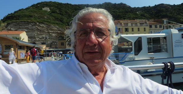 Paul Leccia, président du Cercle des nageurs de Marseille.