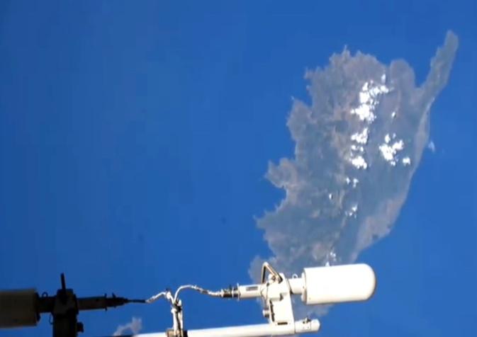 IMAGES - 29 juillet 2021, 16h47 : l'ISS survole la Corse