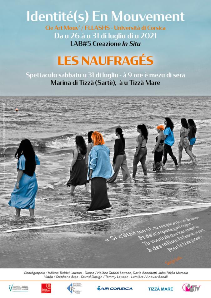 Spectacle : « Les Naufragés » ce samedi soir sur la plage de Tizzano