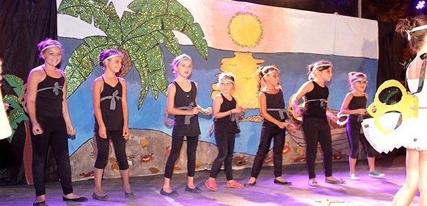 """""""Voyage sur une île enchantée"""" pour les enfants de l'ALSH de Calvi"""