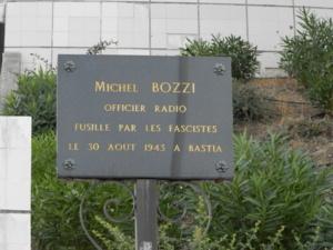 Ajaccio : Hommage à Michel Bozzi fusillé en 1943…