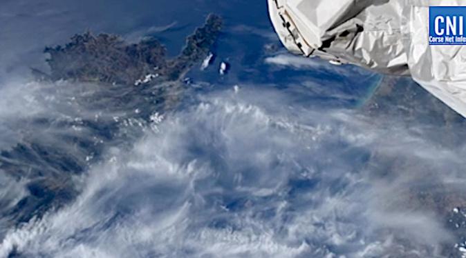 VIDEO - Thomas Pesquet au-dessus de la Corse