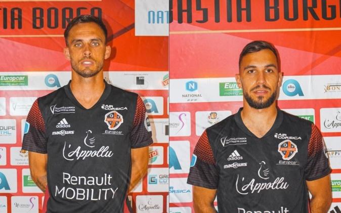 Deux nouveaux joueurs pour le FCBB : Anthony Schuster et Jérémy Grain (Photos FCBB)