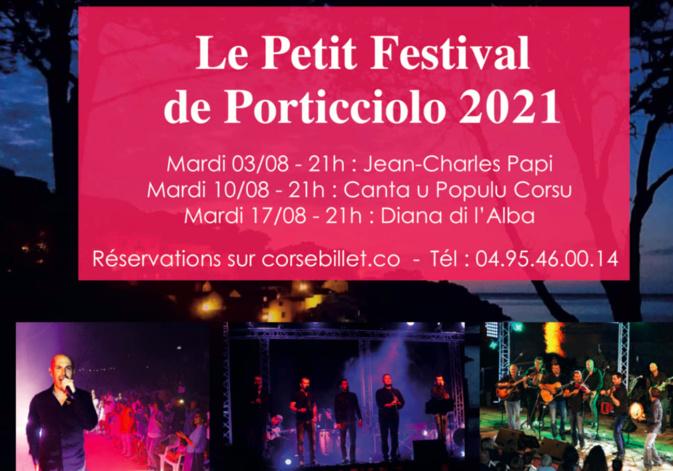 Le «Petit Festival de Porticciolo» ouvre ce mardi 3 août