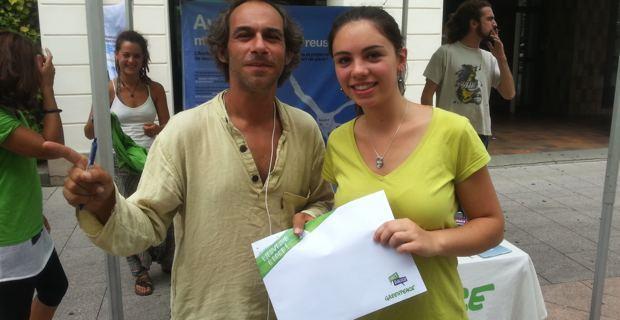 Gilles-Eric Mendel, responsable d'une équipe Direct dialogue chez Greenpeace.