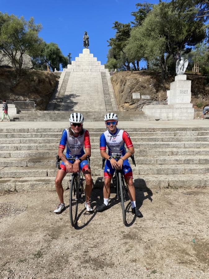 D'Ajaccio, Fabrice et Briac se dirigent vers Propriano.