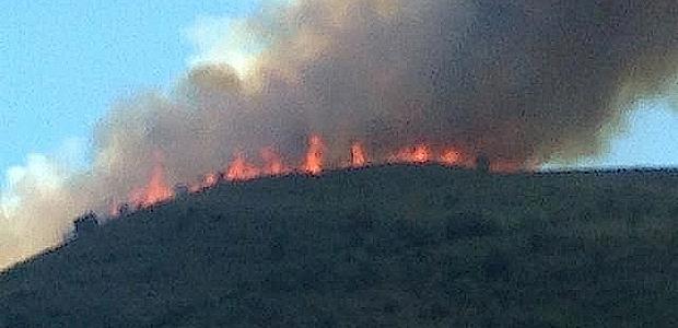 Incendie à Valle di Rostino : 15 à 20 ha parcourus