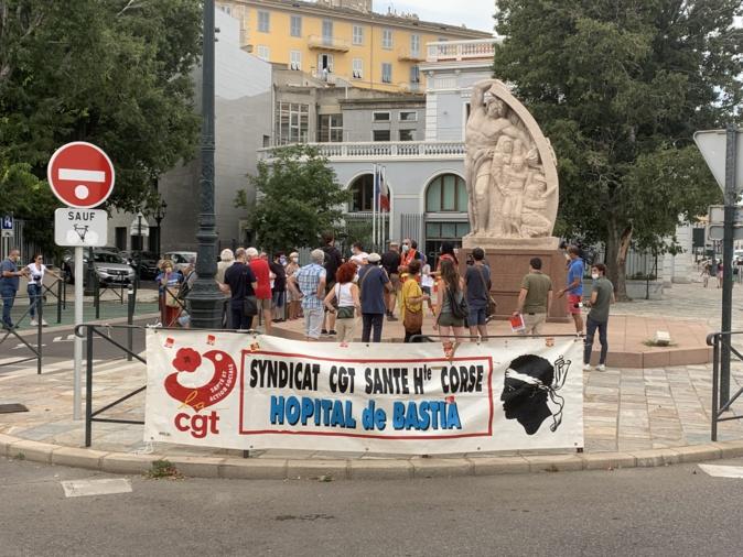 Pass sanitaire, obligation vaccinale... A Bastia, la CGT fait de la résistance