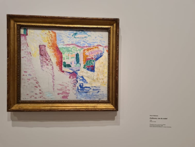 Collioure, rue du soleil. Peint par Henri Matisse à Collioure en 1905. Crédits Photo : Pierre-Manuel Pescetti