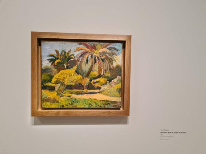 Paysage corse. Peint par Henri Matisse à Ajaccio en 1898. Crédits Photo : Pierre-Manuel Pescetti
