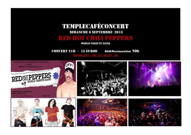 Ajaccio : Red Hot Chili Peppers by Organi'c en live au Temple Café Concert