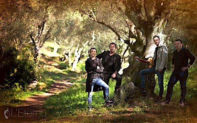 """Le groupe """"l'Eternu"""" sort son premier album """"I nostri sogni"""". Photo : Miriam Crescenzi"""