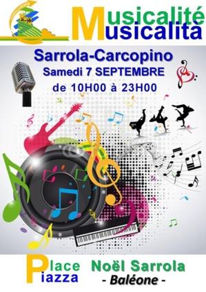 MUSICALITE - Sarrola carcopino