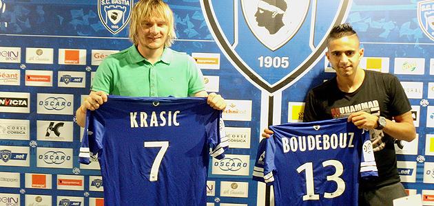 """Milos Krasic : """"Fier de succéder aux grands joueurs Serbes du Sporting"""""""