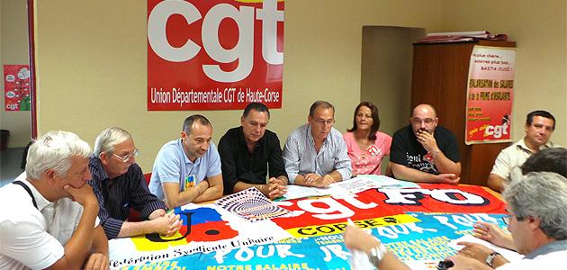 CGT, FSU et FO de Haute-Corse : En grève et dans la rue le 10