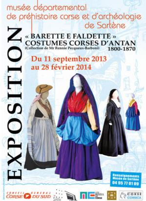 Sartene : Une exposition « Barette è faldette », costumes corses d'antan