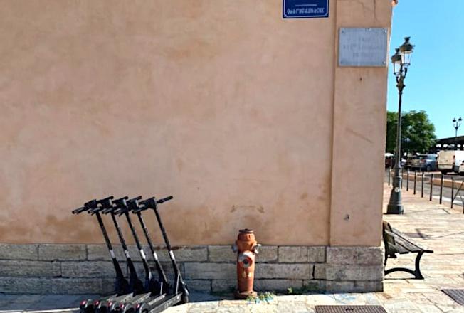 En tout, neuf parkings dédiés sont disséminés dans Bastia. Crédits Photo : E.Più