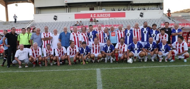 Les participants du Challenge Souvenir Victor Mosa (Ritrattu : ac-ajaccio.com)