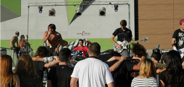 Die Buried Alive en concert live