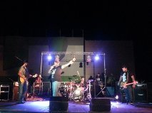 Osmoz en live nocturne lors de Musicalité